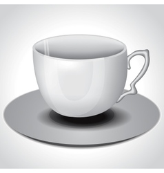 Tea coffee cup vector image
