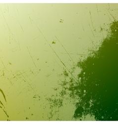 Distress Green Texture vector image