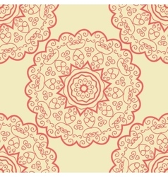 Seamles doodle based tile print vector