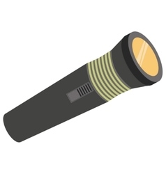 Pocket light for hiking vector image