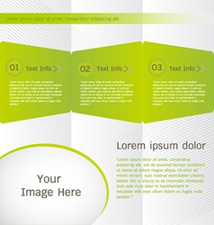 Brochure Templates Design vector image vector image