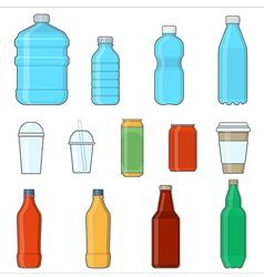 drinks beverages vector image vector image