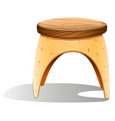 A chair furniture vector image
