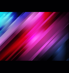 Abstract striped diagonal geometric lines pattern vector
