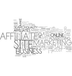 Affiliates can do what for your online business vector