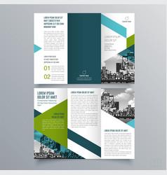 brochure design 1196 vector image