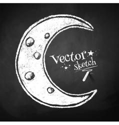 Crescent vector image