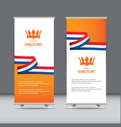 Happy kings day celebration template design vector