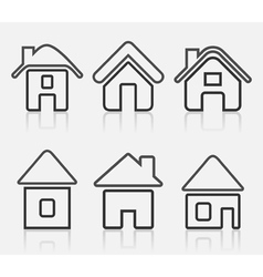 House icon8 vector image