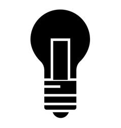 lamp light icon black sign vector image
