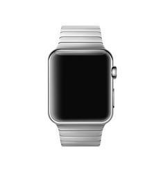Wrist watch mockup vector