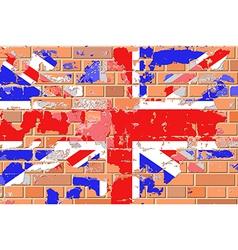 Grunge British Flag vector image vector image