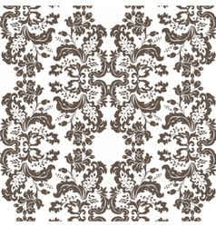 Vintage Damask Pattern ornament Imperial style vector image vector image