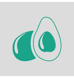 Avocado icon vector image