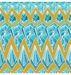 Aztec geometric pattern vector