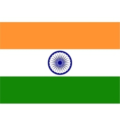 background india flag vector image