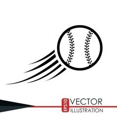 baseball icon design vector image
