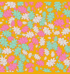 bright themed seamless pattern chaotically vector image