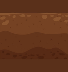 Brown soil texture background vector