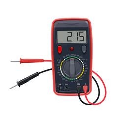Cartoon multimeter electrical equipment vector