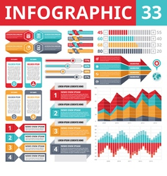 Infographics Elements 33 - Set of Design Elements vector image