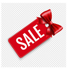 sale price tags isolated transparent background vector image