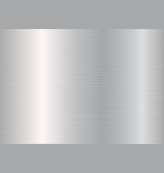 Stainless steel plate vector