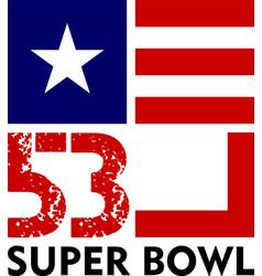 Super bowl 53 vector