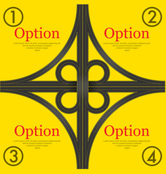 traffic yellow background vector image