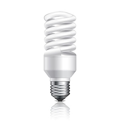 object energy saving lamp vector image