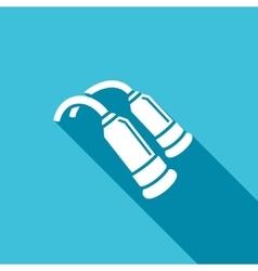 Milking machine icon vector image