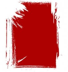 grunge frame vector image vector image