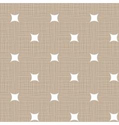 Seamless retro pattern Linen eps10 Vintage vector image vector image