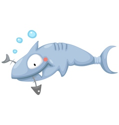 a shark vector image