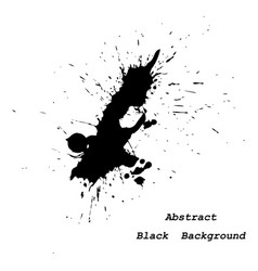 big inky patch abstract background vector image