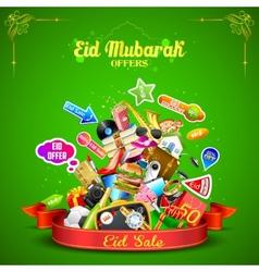 Eid Mubarak offer vector