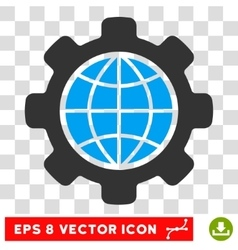 Global Options Eps Icon vector