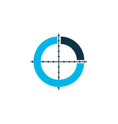 infographic icon colored symbol premium quality vector image