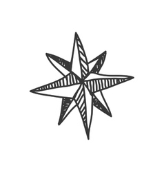 Star icon Sketch design graphic vector