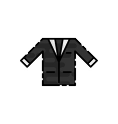 Wedding flat icon vector image vector image