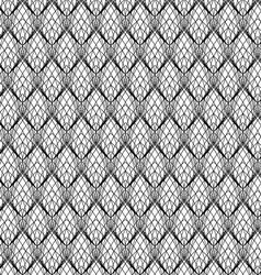 Abstract Black Line Lace Pattern vector