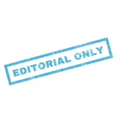 Editorial Only Rubber Stamp vector