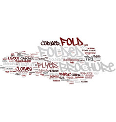 Folklore word cloud concept vector
