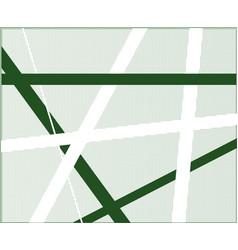 Green criss cross halftone vector
