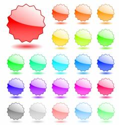 icon tags vector image
