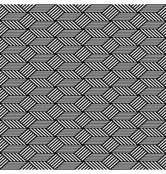 Seamless op art pattern vector