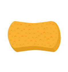 Sponge for washing icon vector