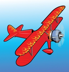 propeller airplane toy vector image