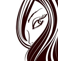 Cute Makeup icon vector image