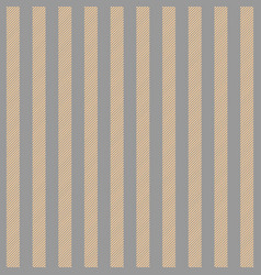 Gold platinum color striped fabric texture vector